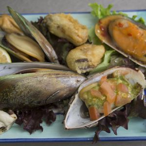 Green Lip Mussel Menu 2
