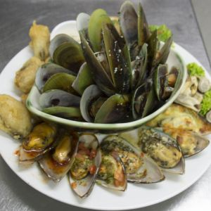 Green Lip Mussel platter